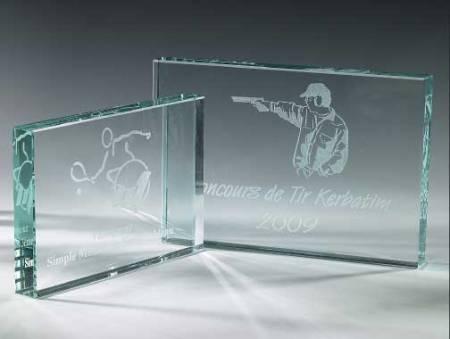 Lasergravur Glas