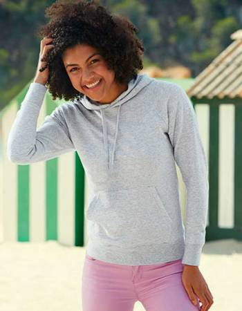 LADYFIT LIGHTWEIGHT HOODED SWEAT