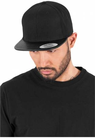 Flexfit/Yupoong Snap Back Cap Leather