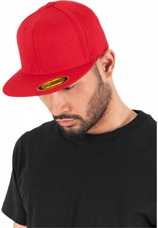 Flexfit Flatpeak 210 red