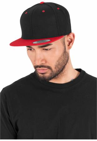 Original Flexfit Cap black red