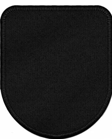 Patch Wappenform 12x10 cm Aufnähen - oder mit Klett