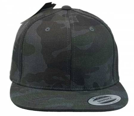 Flexfit Cotton Camo Snapback