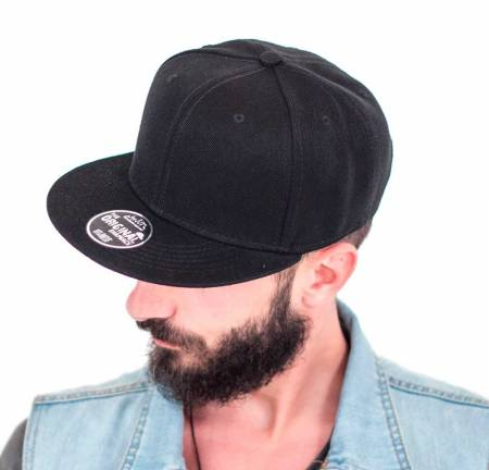 Snap Back Cap Atlantis 3D