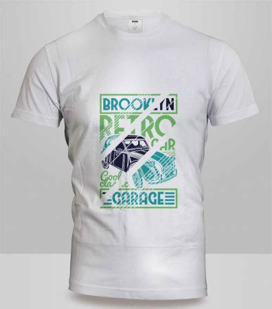 T-Shirt Brooklyn Garage 1