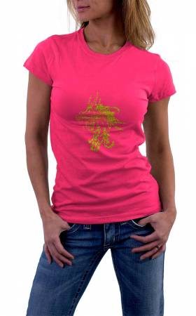 Damen T-Shirt Dragon