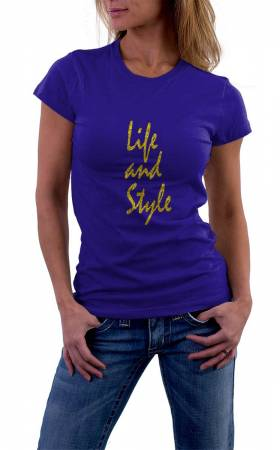 Damen T-Shirt Life and Style