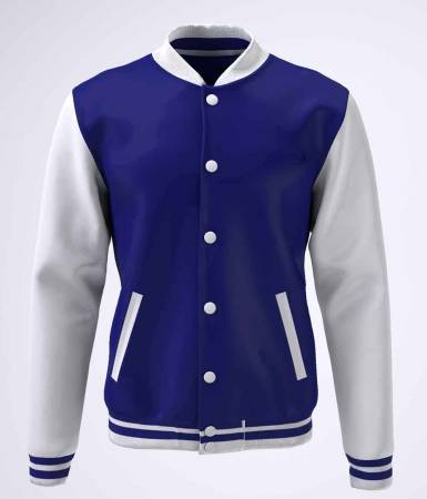 College Jacke Konny Design navy white