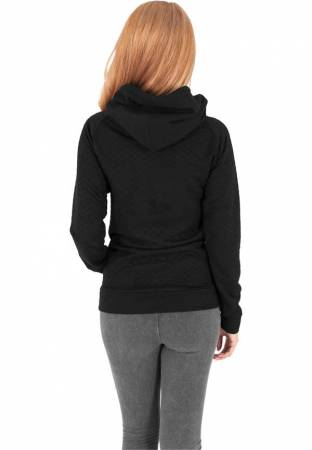 Ladies Quilt Hoody
