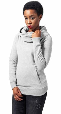 Ladies High Neck Hoody