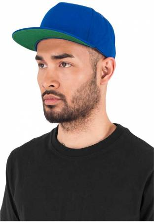 Yupoong Snapback 5 Panel royal