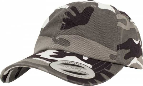 Low Profile Camo Washed Cap