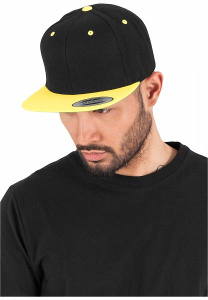 Original Flexfit Cap black neonyellow