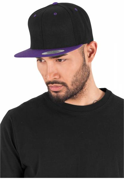 Original Flexfit Cap black purple