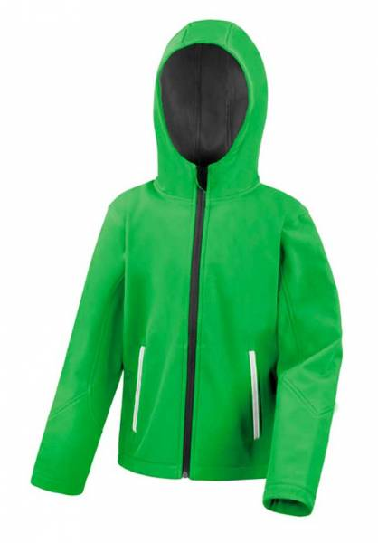 Junior Hooded Soft Shell Jacket