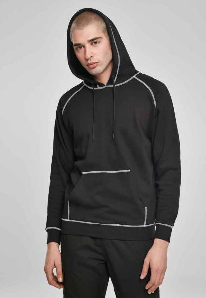 Contrast Stitching Hoody