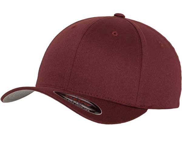Flexfit Wooly Combed maroon