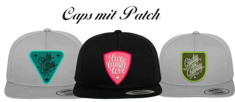 Caps-mit-Patch